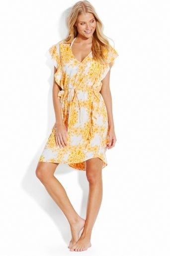 Sunflower שמלת חוף בסגנון טוניקה