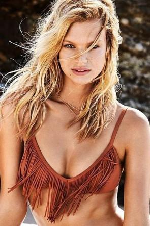 Coastal Fringe Bralette Bikini Top