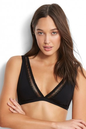 Wild at Heart Longline Tri Bikini Top Seafolly