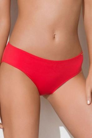 Charm ביקיני תחתון בגזרה קלאסית אדום V51140-B-Red-