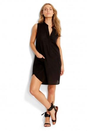 Sleeveless Beach Shirt – שמלת חוף ללא שרוולים