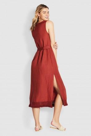 Scarlet שמלת מקסי רומנטית לקיץ