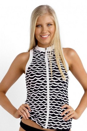 Seafolly Rash Vest - Tidal Wave