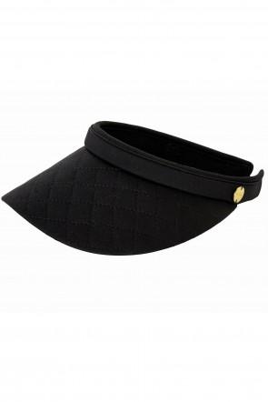 Seafolly כובע מצחייה שחורה לנערות /נשים