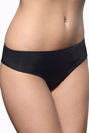 Victoria Smooth G-string with a low waistline Black