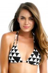 Costa Maya Slide Triangle Bikini Top