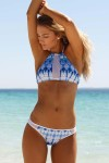 WILDE FOX HALTERNECK BIKINI SET INDIANA SKY